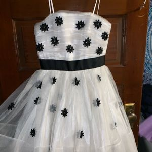 Betsey Johnson white floral dress